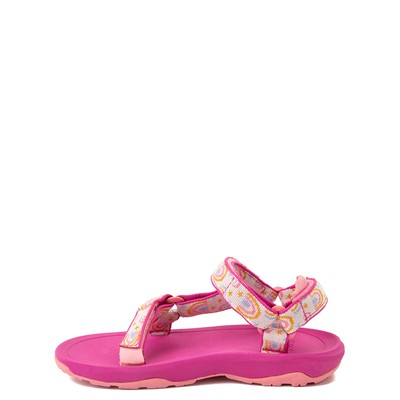 Alternate view of Teva Hurricane XLT2 Sandal - Little Kid - Pink / Rainbows