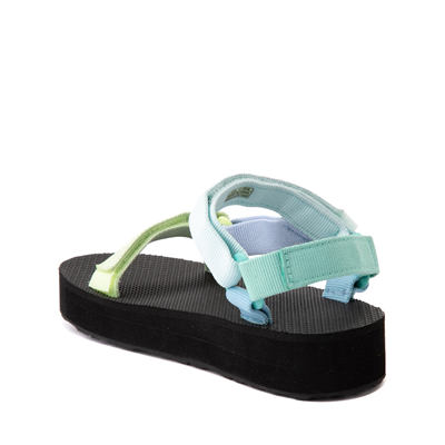 Alternate view of Teva Universal Midform Sandal - Little Kid / Big Kid - Light Green / Multicolor