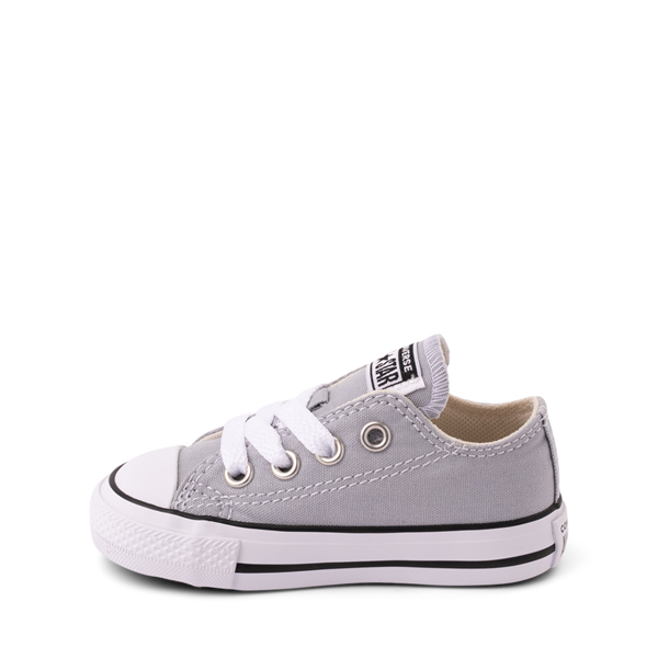alternate view Converse Chuck Taylor All Star Lo Sneaker - Baby / Toddler - Wolf GrayALT1