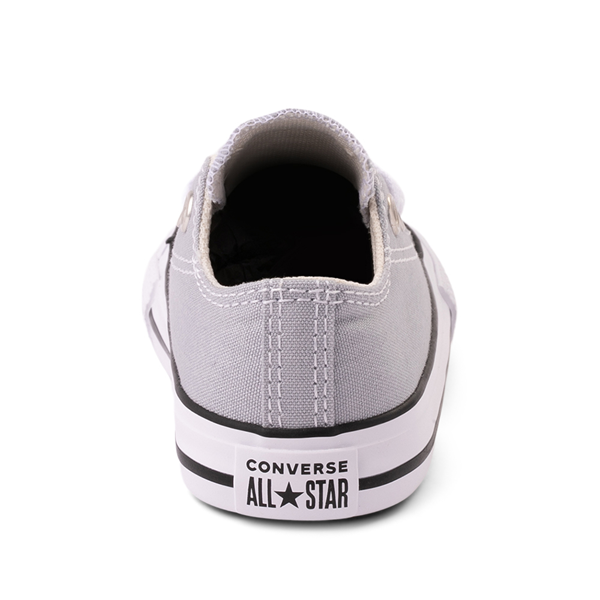 alternate view Converse Chuck Taylor All Star Lo Sneaker - Baby / Toddler - Wolf GrayALT4
