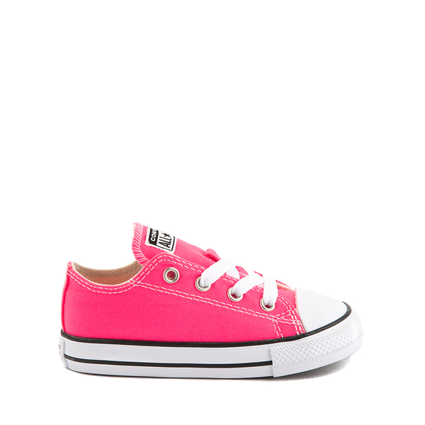 Main view of Converse Chuck Taylor All Star Lo Sneaker - Baby / Toddler - Hyper Pink