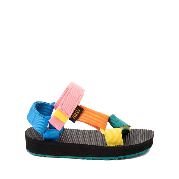 Main view of Teva Original Universal Sandal - Toddler - Black / '90s Color-Block
