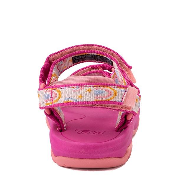 alternate view Teva Hurricane XLT2 Sandal - Baby / Toddler - Pink / RainbowsALT4