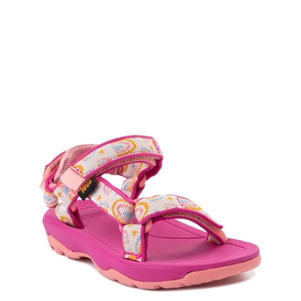 alternate view Teva Hurricane XLT2 Sandal - Baby / Toddler - Pink / RainbowsALT5