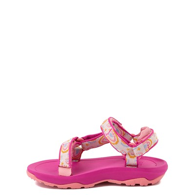 Alternate view of Teva Hurricane XLT2 Sandal - Baby / Toddler - Pink / Rainbows