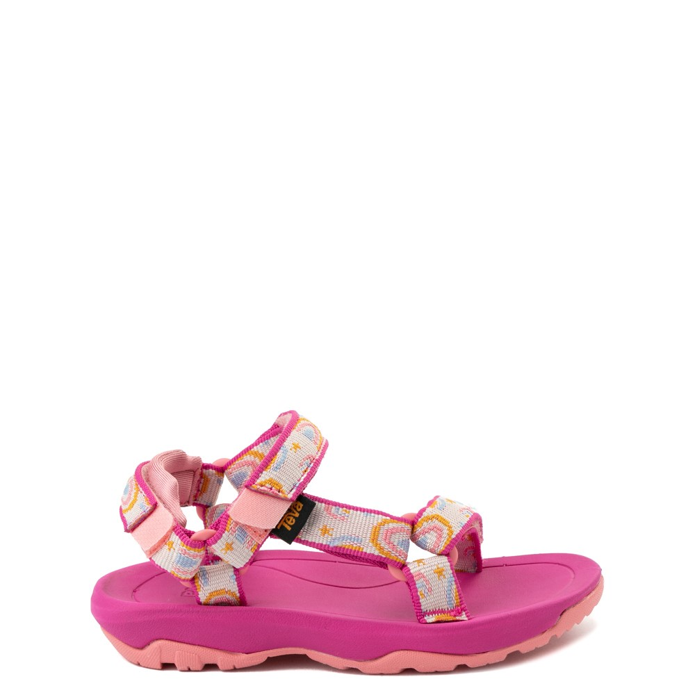 Teva Hurricane XLT2 Sandal - Baby / Toddler - Pink / Rainbows