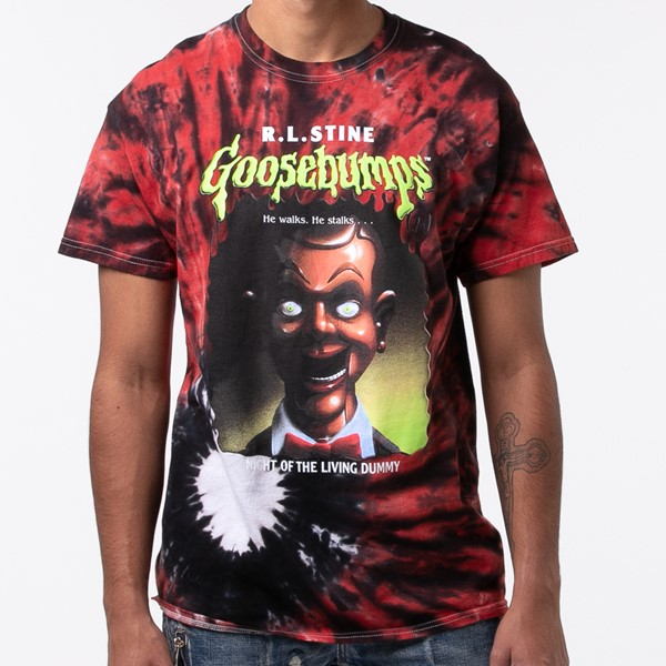 alternate view Mens Goosebumps Tee - RedALT1B