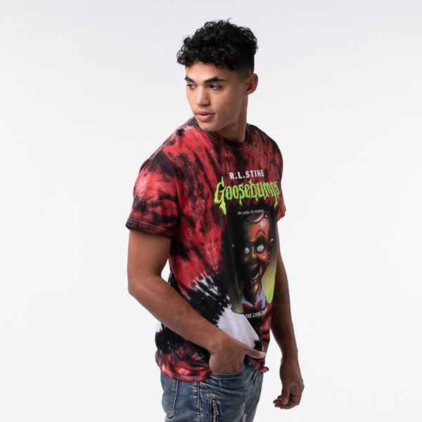 alternate view Mens Goosebumps Tee - RedALT3