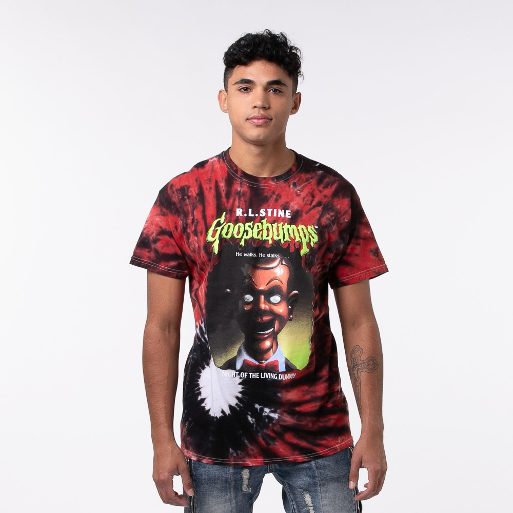 Mens Goosebumps Tee - Red