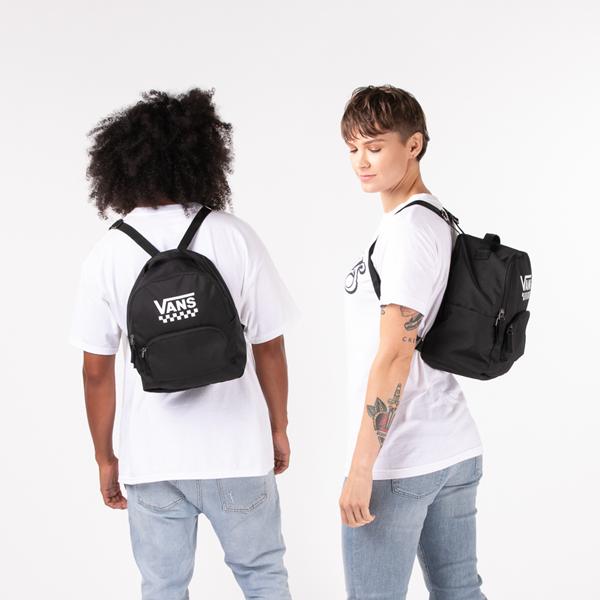 alternate view Vans Off the Wall Mini Backpack - BlackALT1BADULT