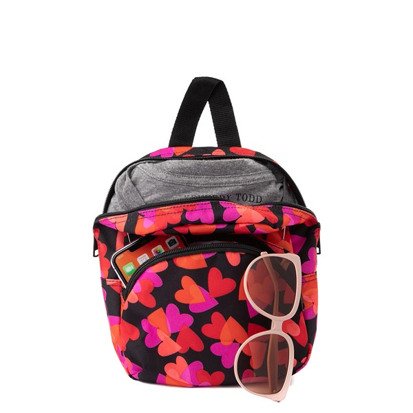 alternate view Vans Got This Hearts Mini Backpack - BlackALT1