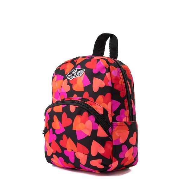 alternate view Vans Got This Hearts Mini Backpack - BlackALT4