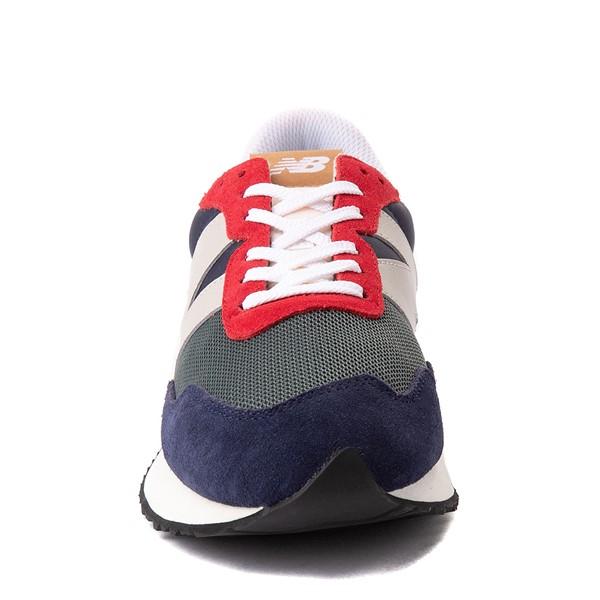 alternate view Mens New Balance 237 Athletic Shoe - Navy / Green / RedALT4