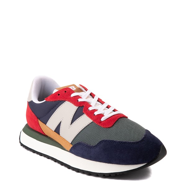 alternate view Mens New Balance 237 Athletic Shoe - Navy / Green / RedALT5