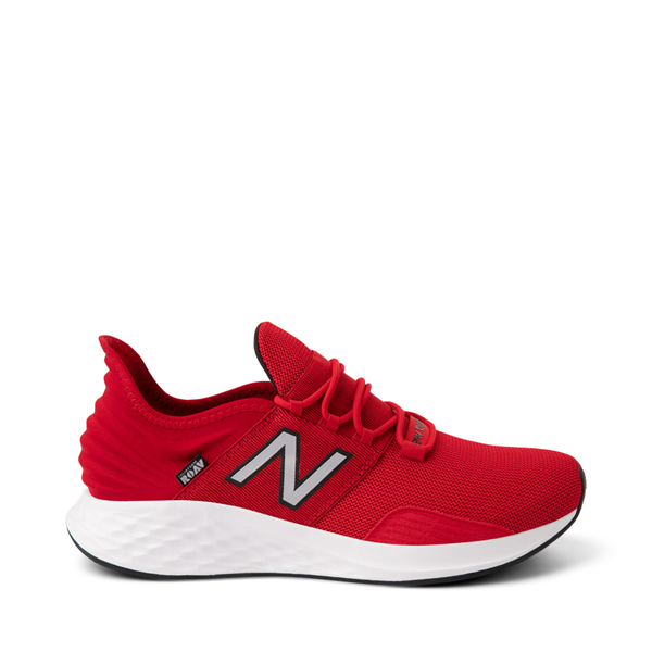 Main view of Mens New Balance Fresh Foam Roav Athletic Shoe - Red