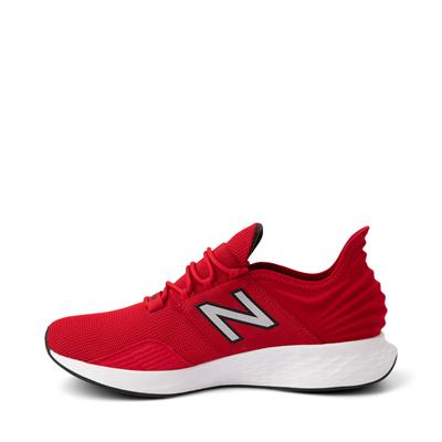 Alternate view of Mens New Balance Fresh Foam Roav Athletic Shoe - Red