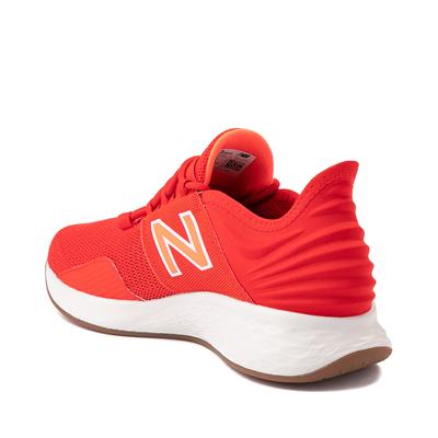 Alternate view of Womens New Balance Fresh Foam Roav Athletic Shoe - Red