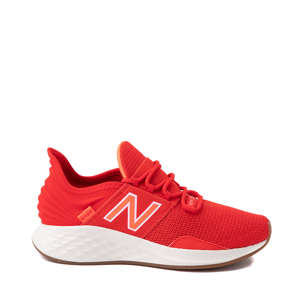 Womens New Balance Fresh Foam Roav Athletic Shoe - Red