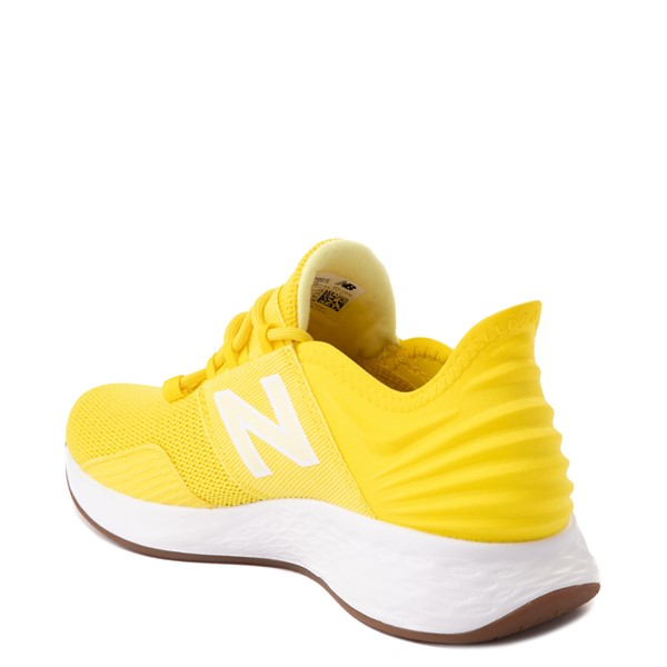 alternate view Womens New Balance Fresh Foam Roav Athletic Shoe - YellowALT1