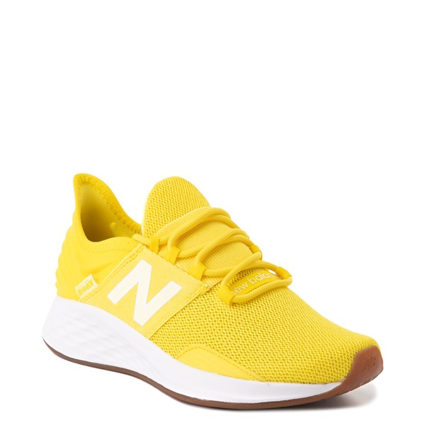 alternate view Womens New Balance Fresh Foam Roav Athletic Shoe - YellowALT5