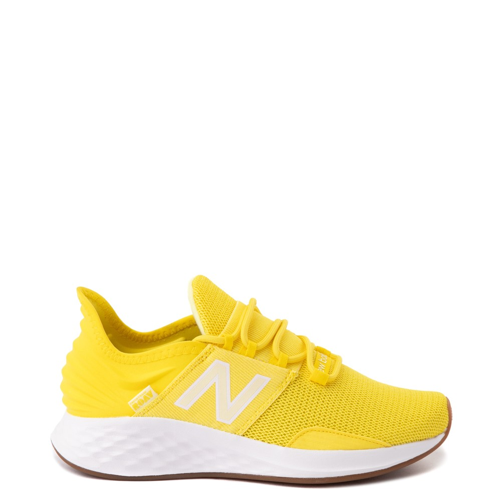Womens New Balance Fresh Foam Roav Athletic Shoe - Yellow