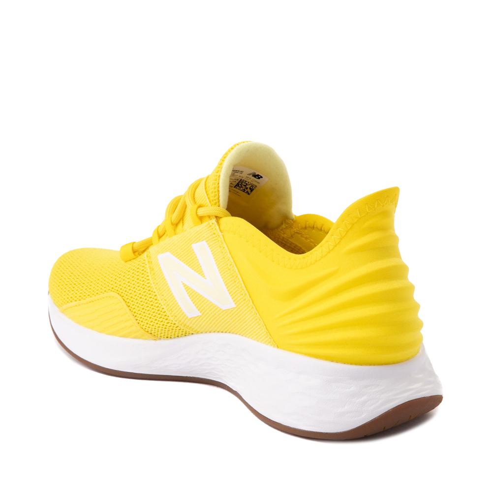 yellow new balance trainers women