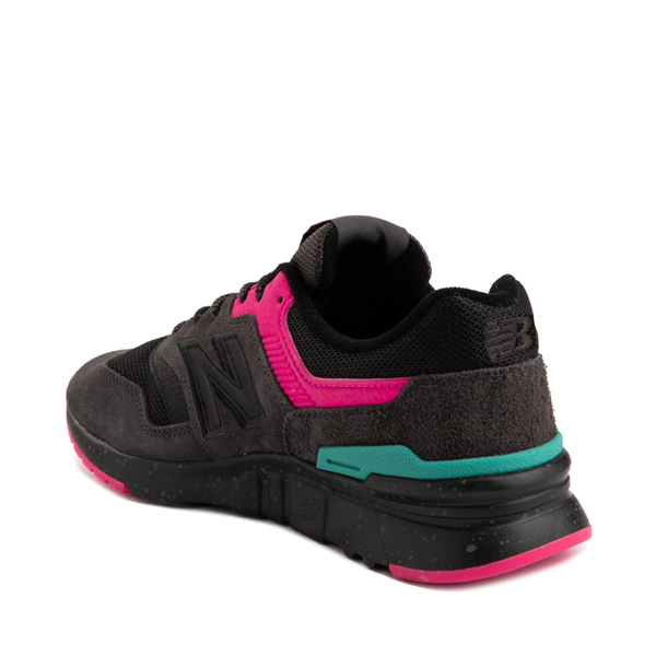alternate view Womens New Balance 997H Athletic Shoe - Black / PinkALT2