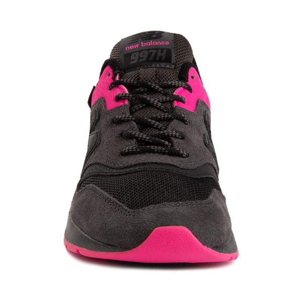 alternate view Womens New Balance 997H Athletic Shoe - Black / PinkALT4
