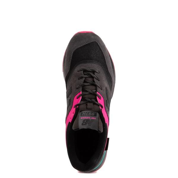 alternate view Womens New Balance 997H Athletic Shoe - Black / PinkALT4B