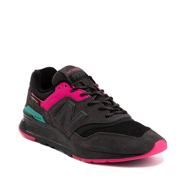 alternate view Womens New Balance 997H Athletic Shoe - Black / PinkALT5