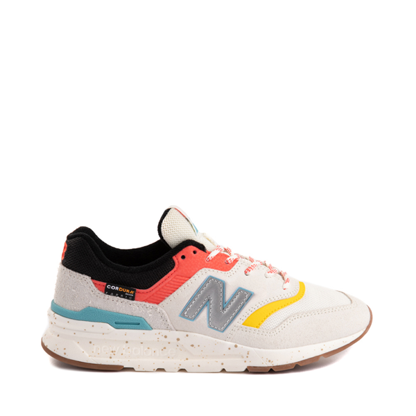 Main view of Womens New Balance 997H Athletic Shoe - Cream / Multicolor