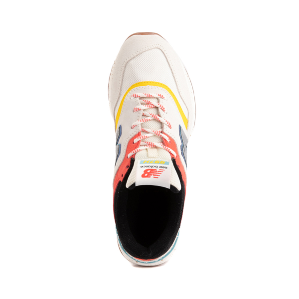 alternate view Womens New Balance 997H Athletic Shoe - Cream / MulticolorALT2