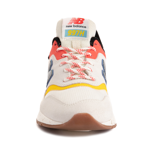 alternate view Womens New Balance 997H Athletic Shoe - Cream / MulticolorALT4