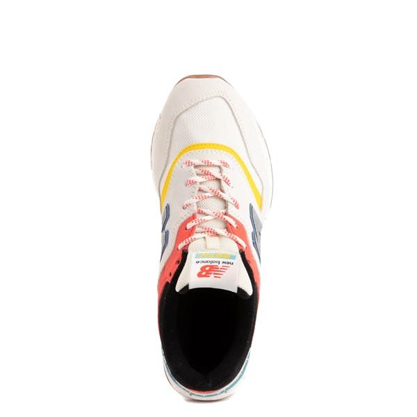 alternate view Womens New Balance 997H Athletic Shoe - Cream / MulticolorALT4B