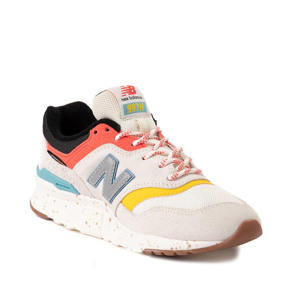 alternate view Womens New Balance 997H Athletic Shoe - Cream / MulticolorALT5