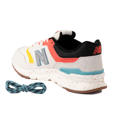 Alternate view of Womens New Balance 997H Athletic Shoe - Cream / Multicolor