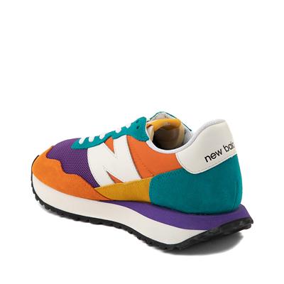 Alternate view of Womens New Balance 237 Athletic Shoe - Orange / Purple / Teal