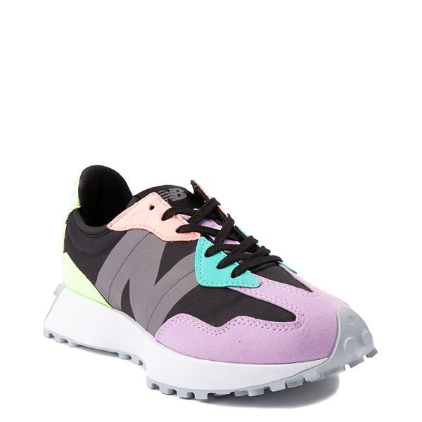 alternate view Womens New Balance 327 Athletic Shoe - Black / MulticolorALT5