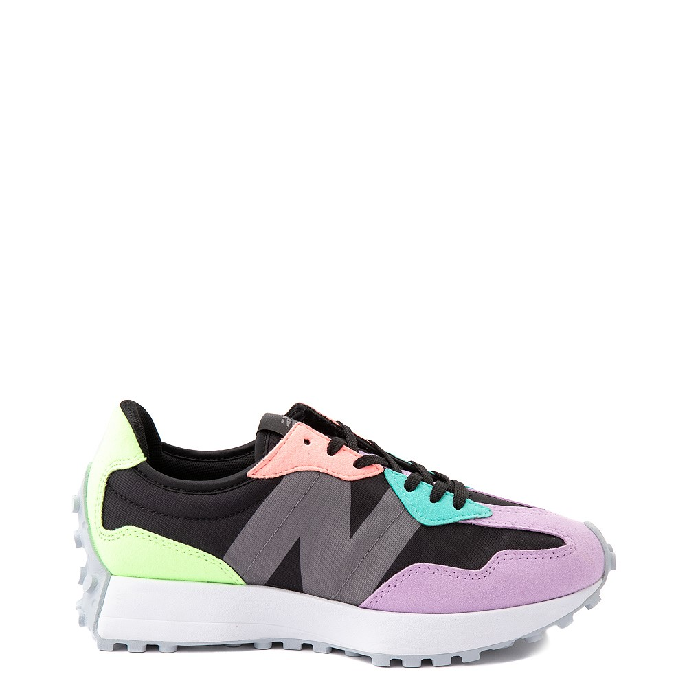 Womens New Balance 327 Athletic Shoe - Black / Multicolor