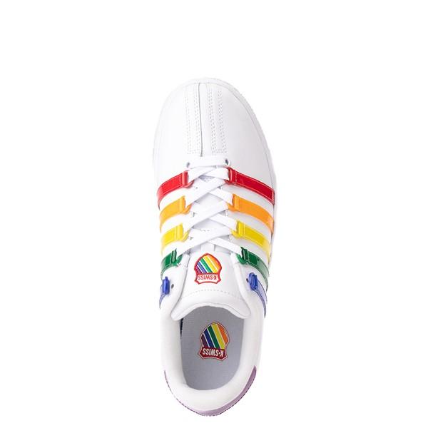 alternate view Womens K-Swiss Classic VN Heritage Athletic Shoe - White / RainbowALT2