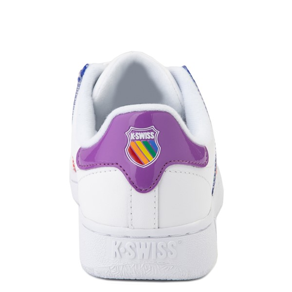 alternate view Womens K-Swiss Classic VN Heritage Athletic Shoe - White / RainbowALT2B