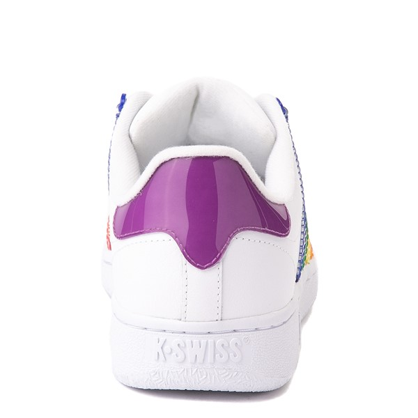 alternate view Womens K-Swiss Classic VN Heritage Athletic Shoe - White / RainbowALT4