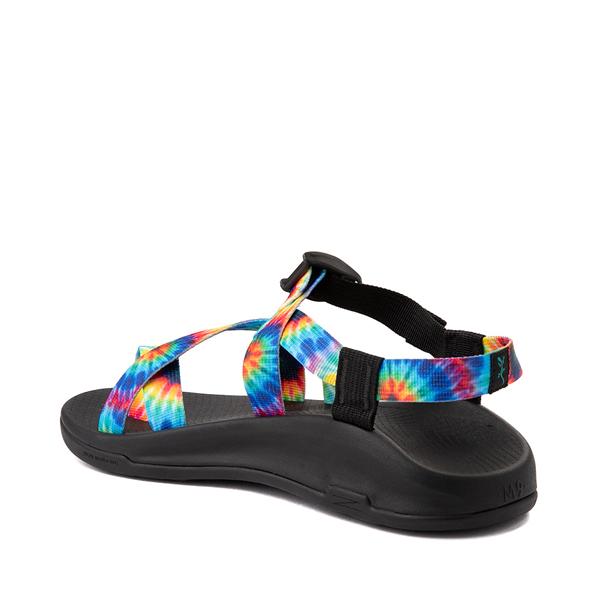alternate view Mens Chaco Z/Boulder 2 Sandal - Black / Tie DyeALT1
