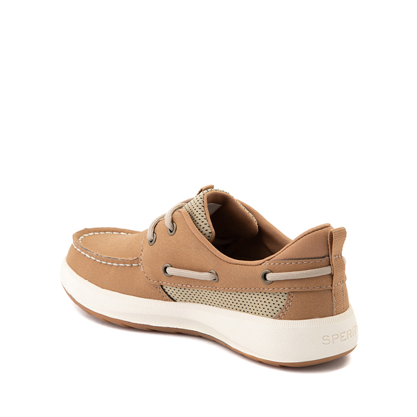 alternate view Sperry Top-Sider Fairwater PlushWave Boat Shoe - Little Kid / Big Kid - TanALT1