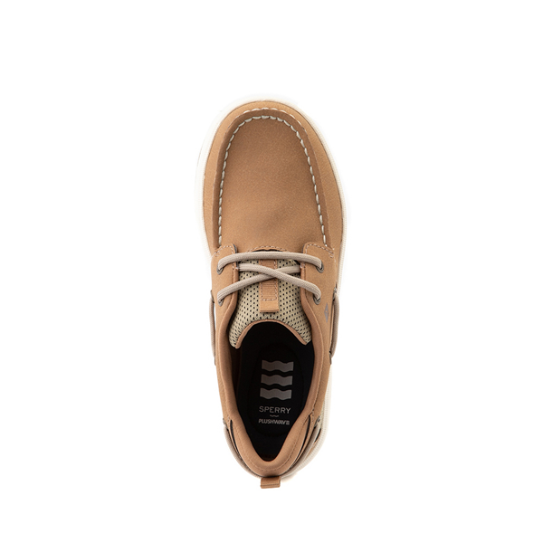 alternate view Sperry Top-Sider Fairwater PlushWave Boat Shoe - Little Kid / Big Kid - TanALT2