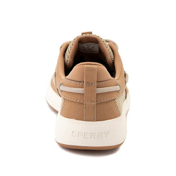 alternate view Sperry Top-Sider Fairwater PlushWave Boat Shoe - Little Kid / Big Kid - TanALT4
