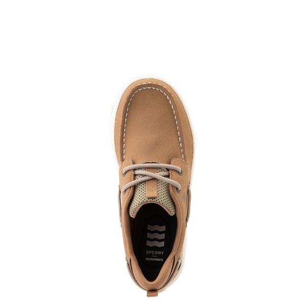 alternate view Sperry Top-Sider Fairwater PlushWave Boat Shoe - Little Kid / Big Kid - TanALT4B
