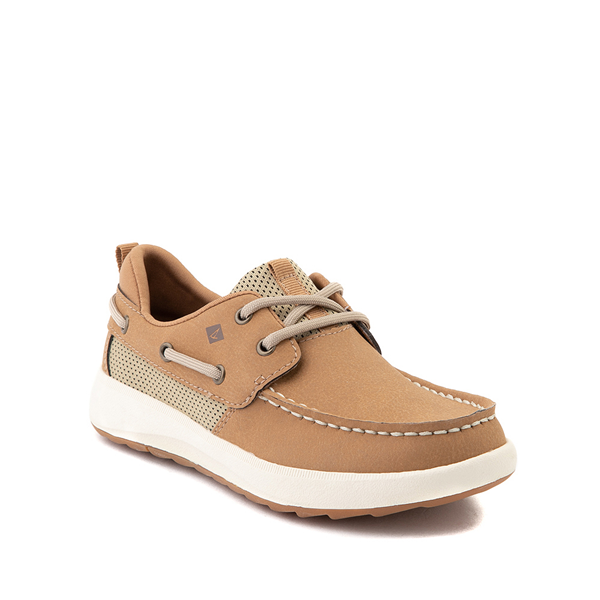alternate view Sperry Top-Sider Fairwater PlushWave Boat Shoe - Little Kid / Big Kid - TanALT5