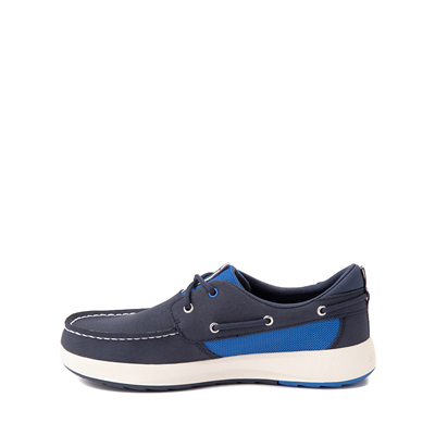 Alternate view of Sperry Top-Sider Fairwater PlushWave Boat Shoe - Little Kid / Big Kid - Navy