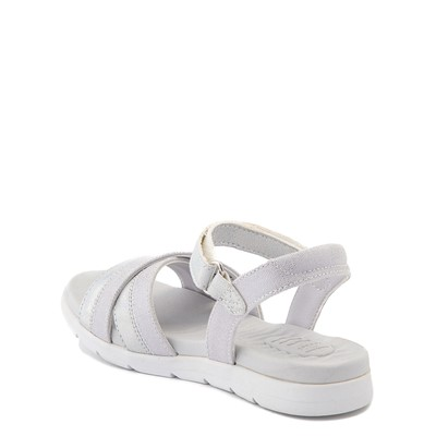 Alternate view of Sperry Top-Sider Leeway PlushWave Sandal - Little Kid / Big Kid - Silver